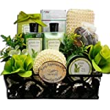 Spa Day Getaway Green Tea Spa Bath and Body Gift Basket Set