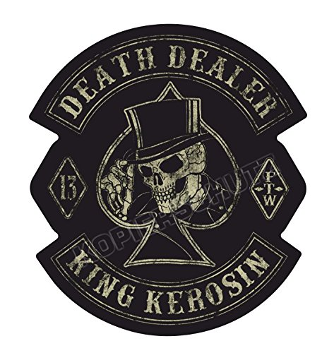 529/3 King Kerosin < Death Dealer 3XL 60cm > adesivi/STICKER USW.
