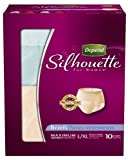 Depend Underwear Silhouette Maximum Absorbency for Women, Large/X-Large, 10 Count (Pack of 4)
