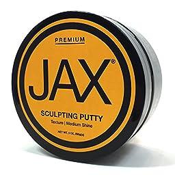 JAX Sculpting Putty. Texture. Medium Shine.