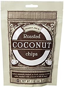 Trader Joe's Roasted Coconut Chips - 2 Pack