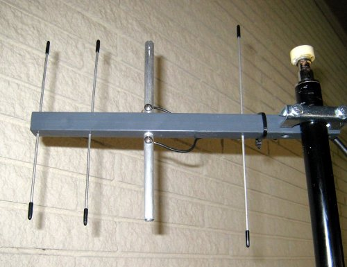 Uhf Ultra Long Range Wireless Microphone 9.1 Db Gain Yagi Antenna With 12' Of Coax And Tnc Connector