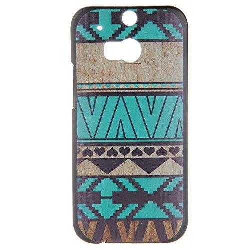 Handy Schutzhülle Case Etui Case Schutztasche für HTC M8 Spektrum Motiv NEU