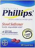 Phillips' Stool Softener Liquid Gels, 60-Count