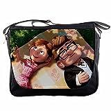 Up Movie Disney Pixar Carl and Ellie Messenger Shoulder Bag
