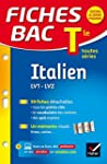 Fiches Bac Italien Tle (LV1 & LV2): f...