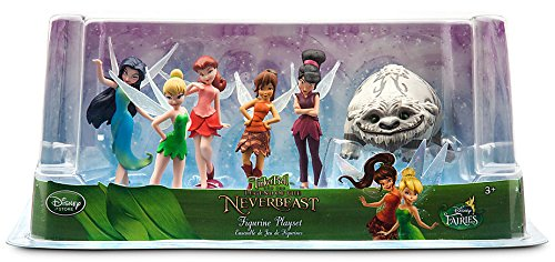 Disney Fairies Tinker Bell and the Legend of the NeverBeast Fairies Figurine Playset cicely mary barker flower fairies of the winter