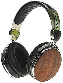 buy Generic Wraith Premium Genuine Wood Headphones Walnut