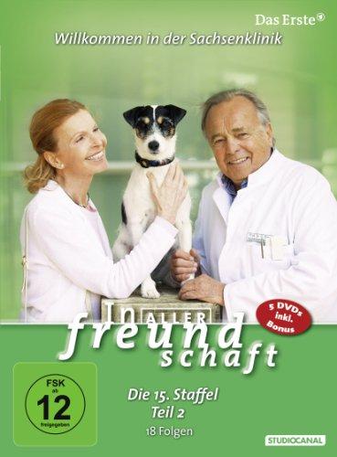 In aller Freundschaft - Die 15. Staffel, Teil 2, 18 Folgen [3 DVDs]