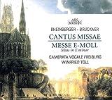 Camerata Vocale Freiburg Rheinberger: Cantus Missae