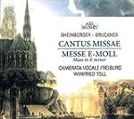 Cantus Missae & Messe En Mi Mineur