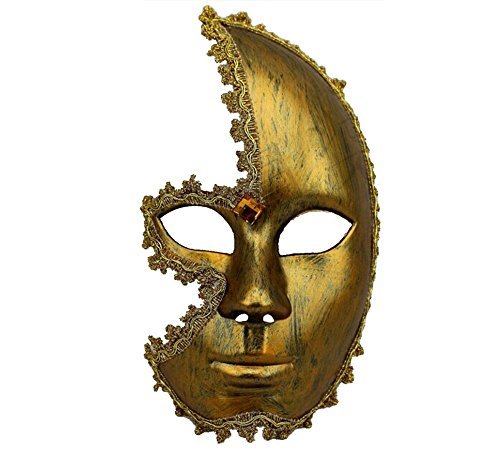 ghope masque homme masque couleur or argent masque beau