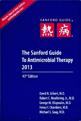 The Sanford Guide to Antimicrobial Therapy 2013 Picture