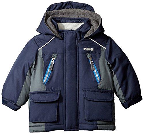 Osh Kosh Baby Boys' Heavyweight Single Jacket, Navy, 12 Months