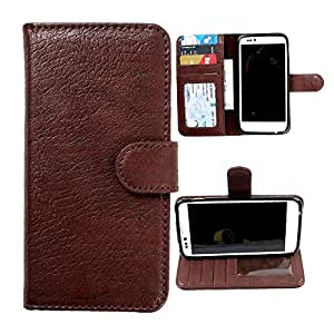 For Sony Xperia Neo L - DooDa Quality PU Leather Flip Wallet Case Cover With Magnetic Closure, Card & Cash Pockets
