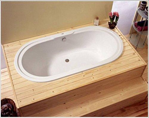 badewanne 185x90 rhodos badewanne oval. Black Bedroom Furniture Sets. Home Design Ideas
