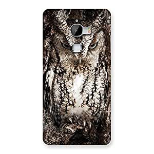 Wood Owl Back Case Cover for LeTv Le Max