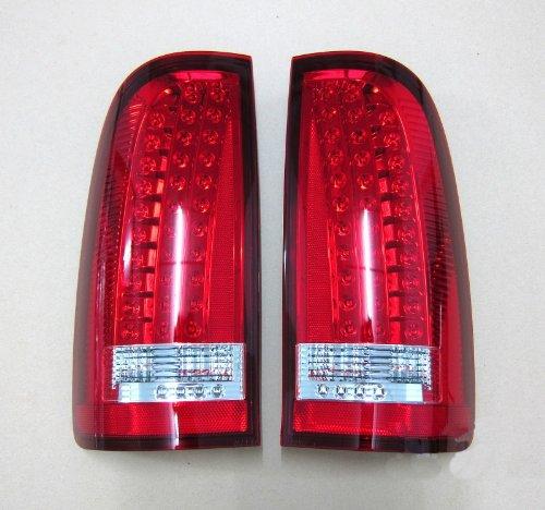Pair Toyota Hilux Mk6 2005-2013 Rear Brake Lamp Led Tail Lights