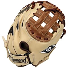 Buy Diamond Sports Youth Fastpitch Catcher's Mitt (Righty, Fits on Left Hand) by Diamond Sports