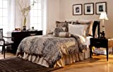 Pointehaven 12-Piece 100-Percent Cotton Luxury Bedding Ensemble, Urban Safari, Cal King