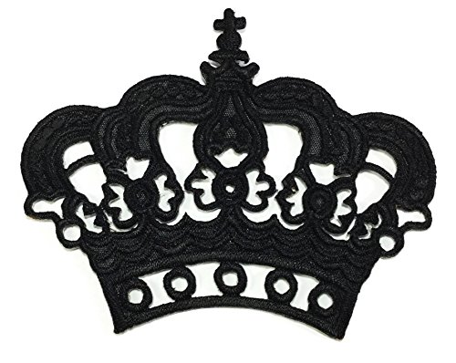 black-crown-diy-embroidered-sew-iron-on-patch-p40