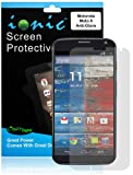 COD(TM) Screen Protector Film Matte (Anti-Glare) for Motorola Moto X Smartphone (AT&T, T-Mobile, Sprint, Verizon) (3-pack)[Lifetime Replacement Warranty]