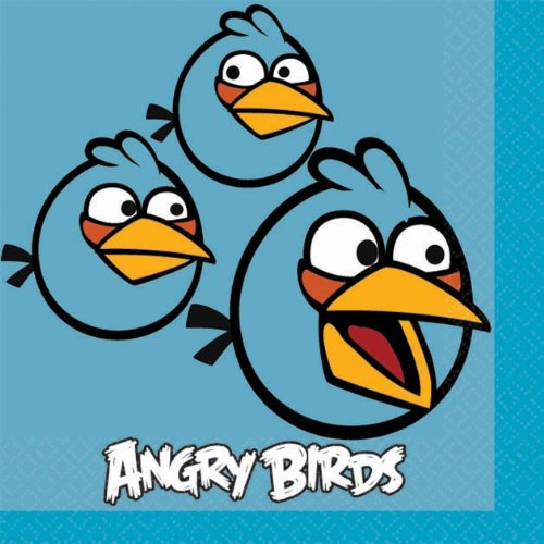 Angry Birds Beverage Napkins 16 Ct. - 1