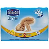 Chicco Couches Dry Fit Taille 2 Mini 3-6 kg - Lot de 3x25 couches (75 couches)