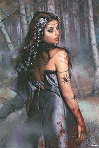 Sestayco Arantza Alba Erotik Poster Fantasy nackte Girls schöne Frauen - Grösse 61x91,5 cm