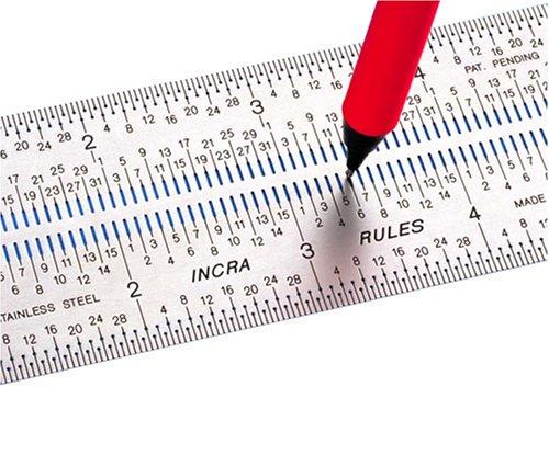 Incra RULE12 12-Inch Incra Rules Marking Rule