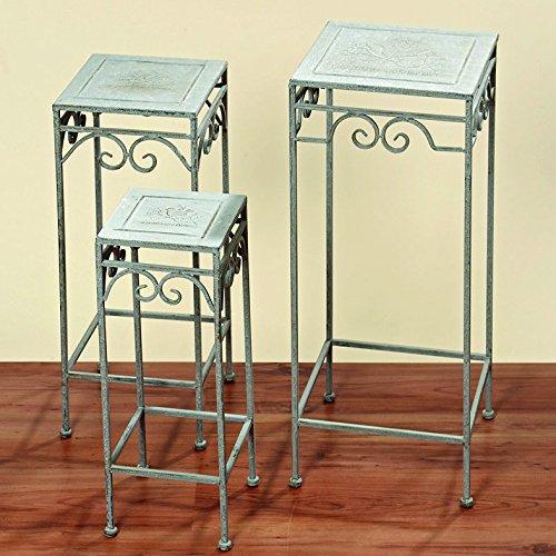 Pflanzentisch Jamie eckig Beistelltisch 72cm hoch, Eisentisch Tisch (30x30x72cm) online kaufen