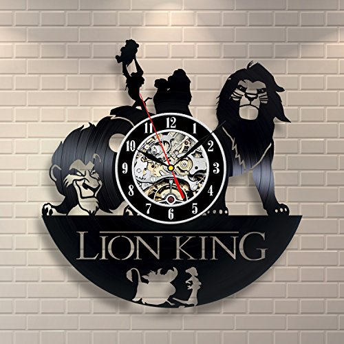 Lion King Baby Vinyl Record Clock Wall Art Home Decor (The Lion King Merchandise compare prices)