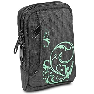 BAXXTAR MANGA I Cas numérique Camera Bag * Noir / Turquoise *