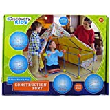 Discovery Kids Construction Fort 72 Build and Play Pieces