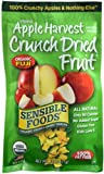 512gThOhJiL. SL160  Sensible Foods Organic Crunch Dried Snacks, Apple Harvest, 0.75 Ounce, 12 Count Pouches