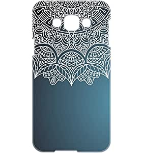 a AND b Designer Printed Mobile Back Cover / Back Case For Samsung Galaxy E7 (SG_E7_3D_2016)