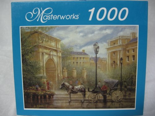 "2003 Masterworks RoseArt "" Park Entrance "" Jigsaw Puzzle -1000 pieces"