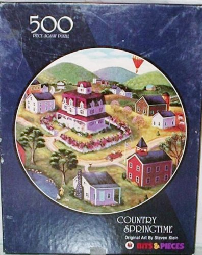 Bits & Pieces Country Springtime 500 Piece Puzzle
