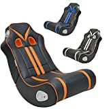 FineBuy Soundchair NINO Schwarz Orange Gaming Chair...