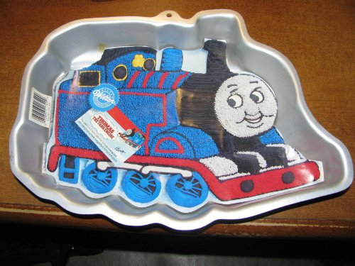 Wilton Cake Pan Thomas the Tank Engine Train First Birthday (First Birthday Cake Pan compare prices)