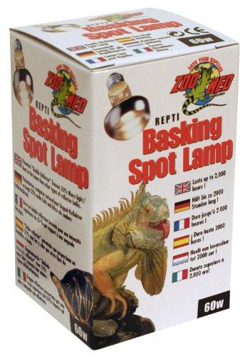 Zoo-Med-SL-60E-Repti-Basking-Spot-Strahler-60-Watt-fr-Wrme-und-Licht-im-Terrarium