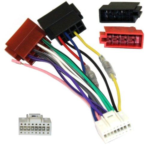 Aerzetix-Adapter-Konverter-Kabel-Adapter-Stecker-ISO-Kabelbaum-H7-auto-fr-ALPINE-Autoradios