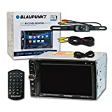 Blaupunkt Memphis 440BT Car audio Double Din 2DIN 6.2 Touchscreen DVD MP3 CD stereo Bluetooth + Remote & DCO Waterproof Backup Camera with Nightvision