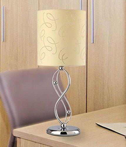 moderne hardware bend gelbes tuch abdeckung wohnzimmer schlafzimmer tisch lampe warme dekoration. Black Bedroom Furniture Sets. Home Design Ideas