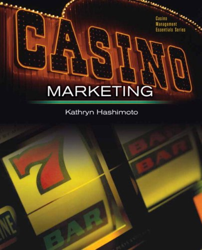 Casino Marketing: Theories and Applications