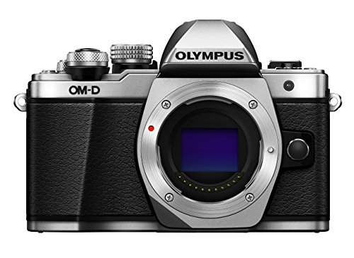 Olympus-OM-D-E-M10-Mark-II-Systemkamera-16-Megapixel-5-Achsen-VCM-Bildstabilisator-elektronischer-Sucher-mit-236-Mio-OLED-Full-HD-WLAN-Metallgehuse-nur-Gehuse-silber