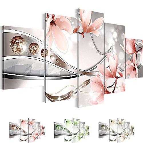bilder 200 x 100 cm sensationspreis 39 flower symphony 39 xxl bild auf vlies leinwand. Black Bedroom Furniture Sets. Home Design Ideas