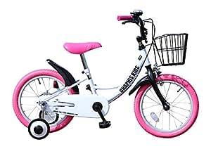 My Pallas(マイパラス) GRAPHIS(グラフィス) 補助輪付き子供用自転車 16インチ カラー/ホワイトピンク GR-16