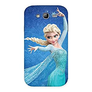 Delighted Angel And Cutness Back Case Cover for Galaxy Grand
