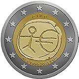 2 Euro Gedenkmünze Belgien 2009 - 10 Jahre Wirtschafts- und Währungsunion - Sammlermünze